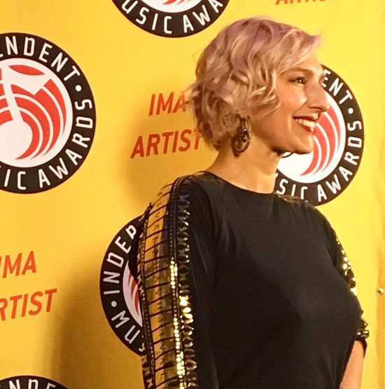 Cristina Morrison - The Independent Music Awards 15th Edition