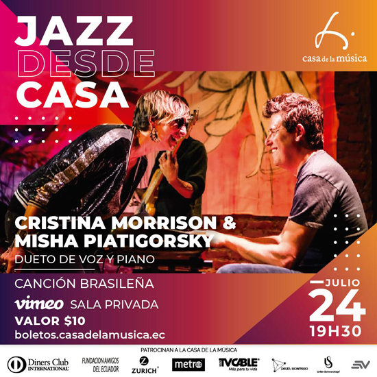 Jazz desde Casa -Casa De La Música